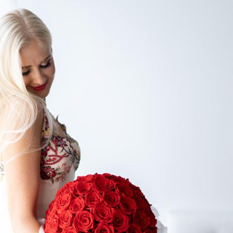 Imeilusad kauakestvad roosibuketid
